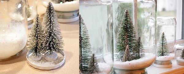 Снег под елку своими руками